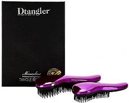 Düfte, Parfümerie und Kosmetik Haarbürstenset - KayPro Dtangler Miraculous Purple (Haarbürste 2 St.)