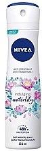 Düfte, Parfümerie und Kosmetik Deospray Antitranspirant - Nivea Soft Waterlily Antyperspirant Spray