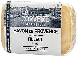 Düfte, Parfümerie und Kosmetik Seife Linden - Corvette Provence Soap Lime