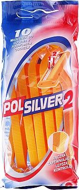 Set Einwegrasierer 10 St. - Polsilver II — Bild N1