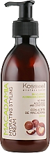 Düfte, Parfümerie und Kosmetik Feuchtigkeitsspendende und pflegende Haarstylingcreme mit Macadamiaöl - Kosswell Professional Macadamia Hydrating Styling Cream