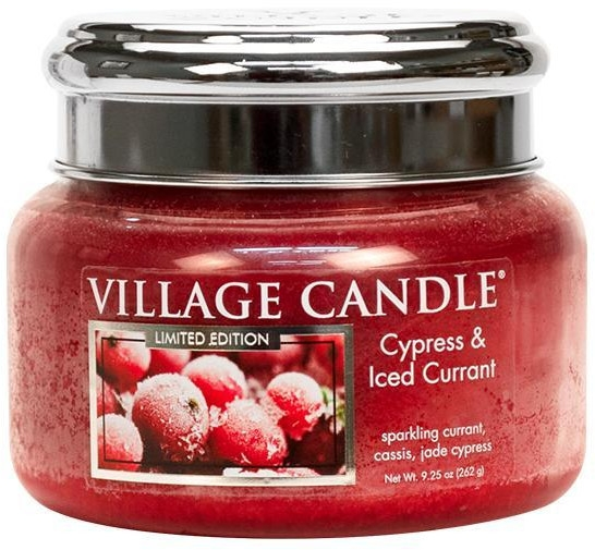 Duftkerze Cypress & Iced Currant - Village Candle Cypress & Iced Currant Glass Jar — Bild N2