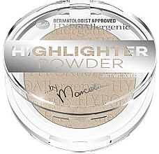 Düfte, Parfümerie und Kosmetik Highlighter Puder - Bell HYPOAllergenic Highlighter Powder by Marcelina