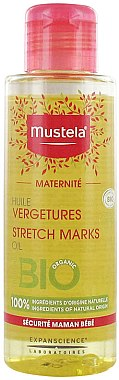 Parfümfreies Körperöl gegen Dehnungsstreifen - Mustela Maternity Stretch Marks Oil Fragrance-Free — Bild N1