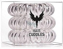 Düfte, Parfümerie und Kosmetik Haargummis 3 St. transparent - HH Simonsen Hair Cuddles Clear