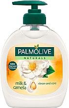 Düfte, Parfümerie und Kosmetik Flüssigseife - Palmolive Naturals Milk and Camelia