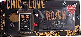 Düfte, Parfümerie und Kosmetik Chic&Love Rock - Duftset (Eau de Toilette 100ml + Kosmetiktasche)