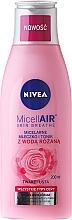 Düfte, Parfümerie und Kosmetik Mizellen-Reinigungsmilch mit Rosenwasser - Nivea MicellAir Skin Breathe