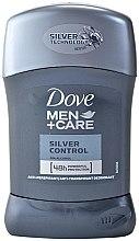 Düfte, Parfümerie und Kosmetik Deostick Antitranspirant - Dove Men+ Care Silver Control Antyperspirant Stick