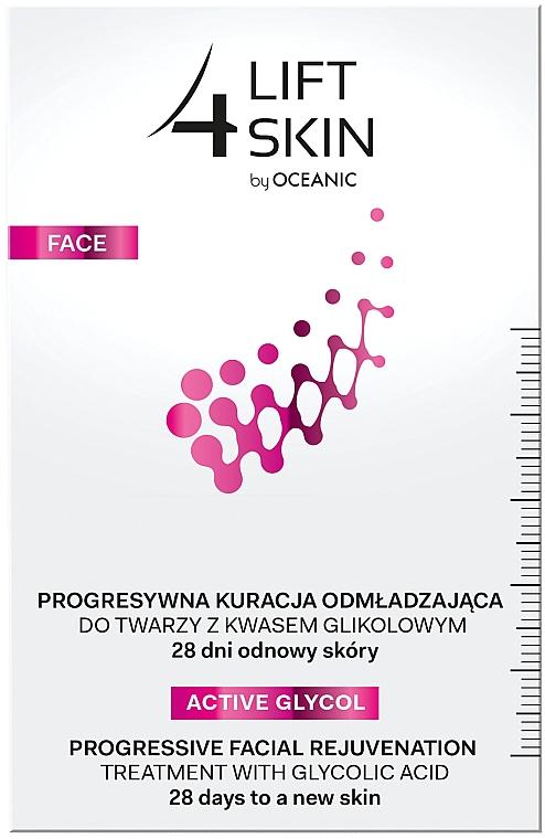 Verjüngendes Gesichtsserum mit Glykol- und Lactobionsäuren - Lift4Skin Active Glycol Progressive Facial Rejuvenation