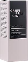 Düfte, Parfümerie und Kosmetik Bio-Gesichtstonikum für Männer - Green + The Gent Face Tonic
