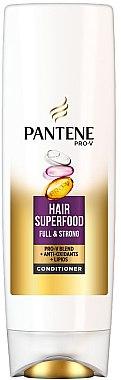 Conditioner für dünnes und feines Haar - Pantene Pro-V Superfood Conditioner — Bild N1