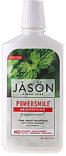 Düfte, Parfümerie und Kosmetik Erfrischendes Mundwasser mit Pfefferminz - Jason Natural Cosmetics Power Smile