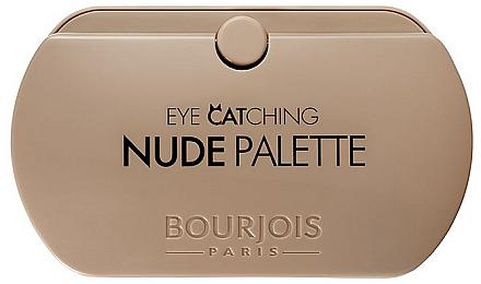Lidschattenpalette - Bourjois Eye Catching Nude Palette — Bild N1