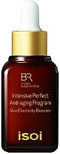 Düfte, Parfümerie und Kosmetik Straffender Anti-Aging Gesichtsbooster mit bulgarischem Rosenöl - Isoi Bulgarian Rose Intensive Perfect Anti-Aging Program