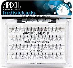 Düfte, Parfümerie und Kosmetik Wimpernbüschel-Set - Ardell Individuals Duralash Knot-Free Naturals Long Black