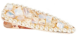 Düfte, Parfümerie und Kosmetik Haarspange Mondstein - Crystallove Moonstone Hair Clip
