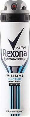 Deospray Antitranspirant - Rexona MotionSense Men Deodorant Spray — Bild N1