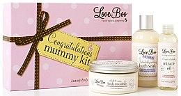 Düfte, Parfümerie und Kosmetik Körperpflegeset - Love Boo Congratulations Mummy Kit (Körpercreme 90ml + Schaumbad 190ml + Körperöl 100ml)