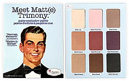 Düfte, Parfümerie und Kosmetik Lidschattenpalette - theBalm Meet Matt(e) Nude Matte Eyeshadow Palette (25.5g)