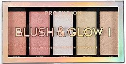 Düfte, Parfümerie und Kosmetik Schminkpallete - Profusion Cosmetics Blush & Glow