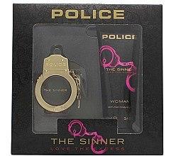 Düfte, Parfümerie und Kosmetik Police The Sinner Love The Excess Woman - Duftset (Eau de Toilette 30ml + Körpercreme 100ml)