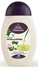 Düfte, Parfümerie und Kosmetik Duschgel mit Baumwollöl - Felce Azzurra Benessere Wellness Shower Gel Cotton Oil