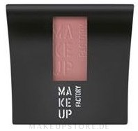 Mattierendes Rouge - Make Up Factory Mat Blusher — Bild 17 - Pink Salmon
