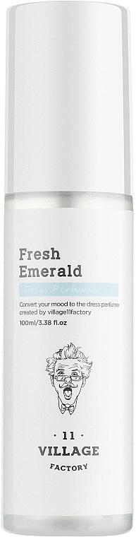 Village 11 Factory Dress Perfume Fresh Emerald - Parfümierter Textilerfrischer Fresh Emerald  — Bild N1