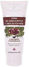 Düfte, Parfümerie und Kosmetik Fußcreme für müde und schmerzende Beine mit Kastanienextrakt - Floslek Foot Cream