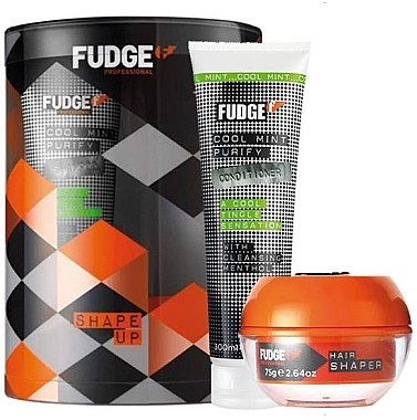 Haarpflegeset - Fudge Shape Up Giftset (Conditioner 300ml + Haarcreme 75g) — Bild N1