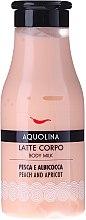Düfte, Parfümerie und Kosmetik Schützende und feuchtigkeitsspendende Körperlotion - Aquolina Body Milk Peach and Apricot