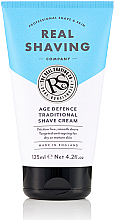 Düfte, Parfümerie und Kosmetik Rasiercreme - The Real Shaving Co. Age Defence Traditional Shave Cream