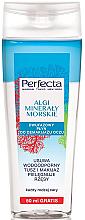 Düfte, Parfümerie und Kosmetik Zweiphasiger Augen-Make-up Entferner mit Algen und Meeresmineralien - Perfecta