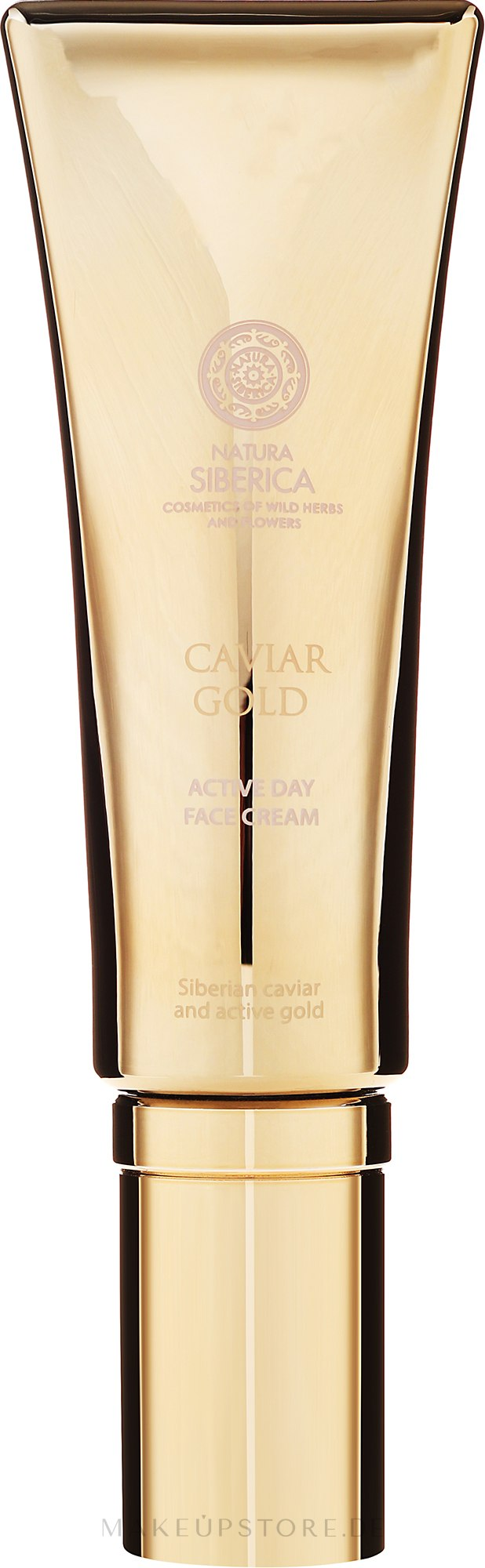 "Aktiv-Tagescreme ""Frische-Booster"" - Natura Siberica Caviar Gold — Bild 30 ml"