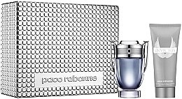 Düfte, Parfümerie und Kosmetik Paco Rabanne Invictus - Duftset (Eau de Toilette 100ml + Duschgel 100ml)