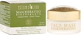 Düfte, Parfümerie und Kosmetik Gesichtsmaske - Erbario Toscano Olive Complex Regenerating Face Mask