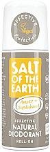 Düfte, Parfümerie und Kosmetik Natürliches Deo Roll-on - Salt of the Earth Amber & Sandalwood Natural Roll-On Deo