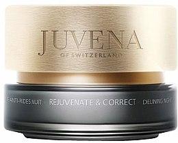 Düfte, Parfümerie und Kosmetik Straffende Anti-Falten Nachtcreme für normale und trockene Haut - Juvena Skin Rejuvenate and Correct Delining Night Cream