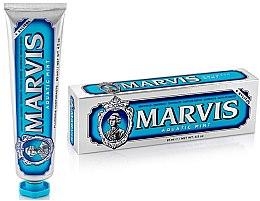 Düfte, Parfümerie und Kosmetik Zahnpasta mit Pfefferminz und Xylitol - Marvis Aquatic Mint + Xylitol