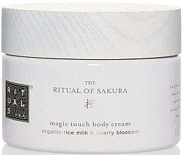 Düfte, Parfümerie und Kosmetik Reichhaltige Körpercreme mit Vitamin E und Reismilch - Rituals The Ritual Of Sakura Body Cream