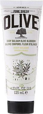 Nährende Körperbutter mit Olivenöl - Korres Pure Greek Olive Blossom Body Balsam — Bild N1