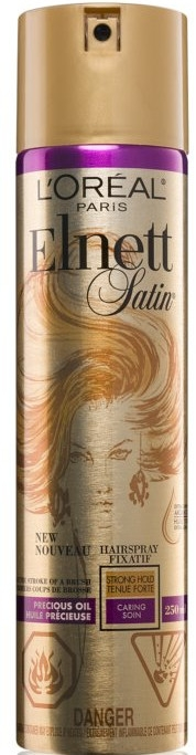 Haarspray mit Arganöl Starker Halt - L'Oreal Paris Elnett Precious Oil Hair Spray — Bild N1