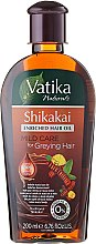 Düfte, Parfümerie und Kosmetik Haaröl - Dabur Vatika Indian Acacia Enriched Hair Oil Mild Care For Greying Hair