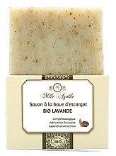Düfte, Parfümerie und Kosmetik Zertifizierte Bio Lavendelseife mit Schneckenschleim-Extrakt - Mlle Agathe