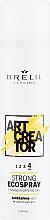 Düfte, Parfümerie und Kosmetik Haarspray mit Kaktus-Extrakt starker Halt - Brelil Art Creator Strong Ecospray