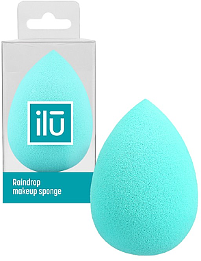 Schminkschwamm türkis - Ilu Sponge Raindrop Turquoise — Bild N1