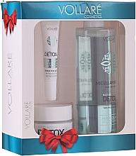 Düfte, Parfümerie und Kosmetik Gesichtspflegeset - Vollare Cosmetics Multi-Active Detox (Mizellenwasser 400ml + Tagescreme für das Gesicht 50ml + Augencreme 15ml)