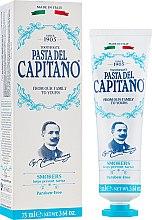 Düfte, Parfümerie und Kosmetik Zahnpasta für Raucher - Pasta Del Capitano Smokers Toothpaste