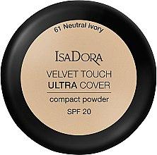 Düfte, Parfümerie und Kosmetik Kompaktpuder mit hoher Deckkraft LSF 20 - IsaDora Velvet Touch Ultra Cover Compact Powder SPF 20